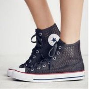 'Free People hi-top Converse. NEW